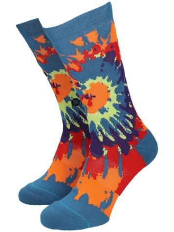 Stance Psych Rainbow Crew Chaussettes