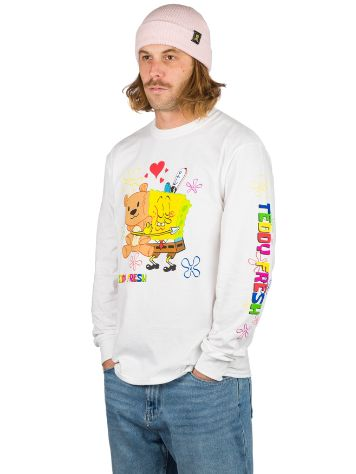 Teddy Fresh X Spongebob Bear Hug Longe Sleeve T-Shirt