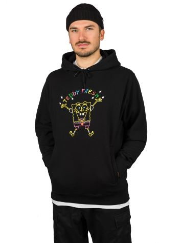 Teddy Fresh X Spongebob Embroidered Pulover s Kapuco