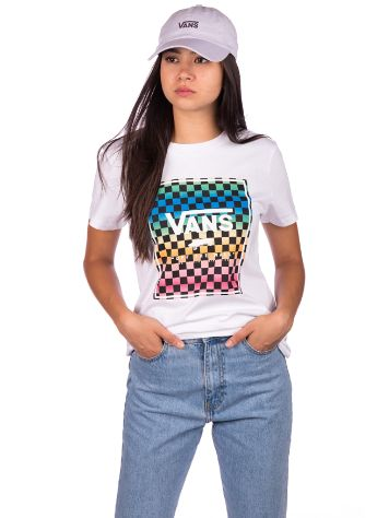 Vans Vintage Check Box T-Shirt
