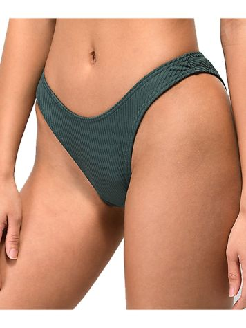 Damsel Aften Flat Rib High Leg Bikini Bottom