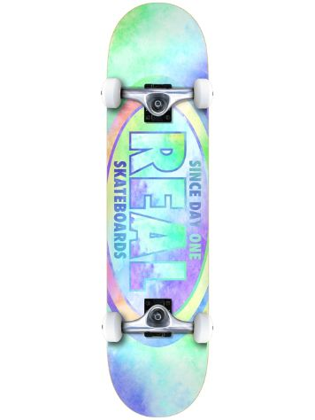 "Real Oval 8.0"" Skateboard"