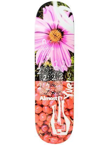 "Almost In Bloom Impact Light 8.5"" Skateboard deck"