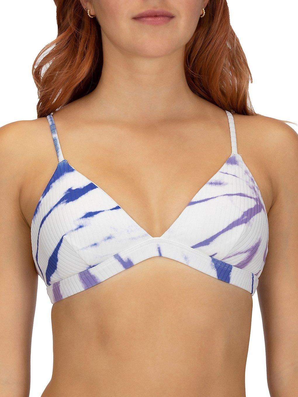 Hurley Rib Spider Royale Tri Bikini Top racer blue