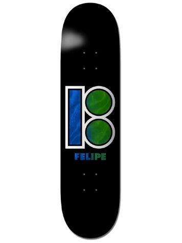 "Plan B Gustavo Blackout 8.25"" Skateboard Deck"