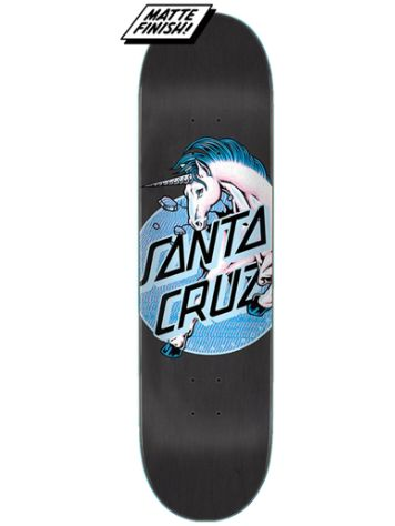 "Santa Cruz Unicorn Dot Hard Rock Maple 7.75"" Skateboard"