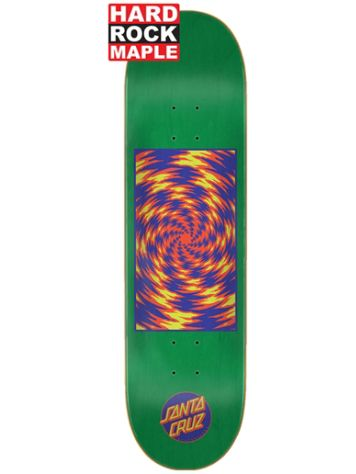 "Santa Cruz Tortile Hard Rock Maple 8"" Skateboard Deck"