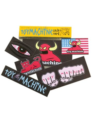 "Toy Machine Grip Sticker Pack 9"" Griptape"
