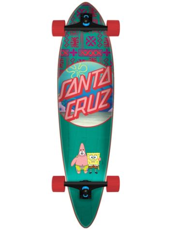 "Santa Cruz SpongeBob Best Buds Pintail 9.5"" Complete"