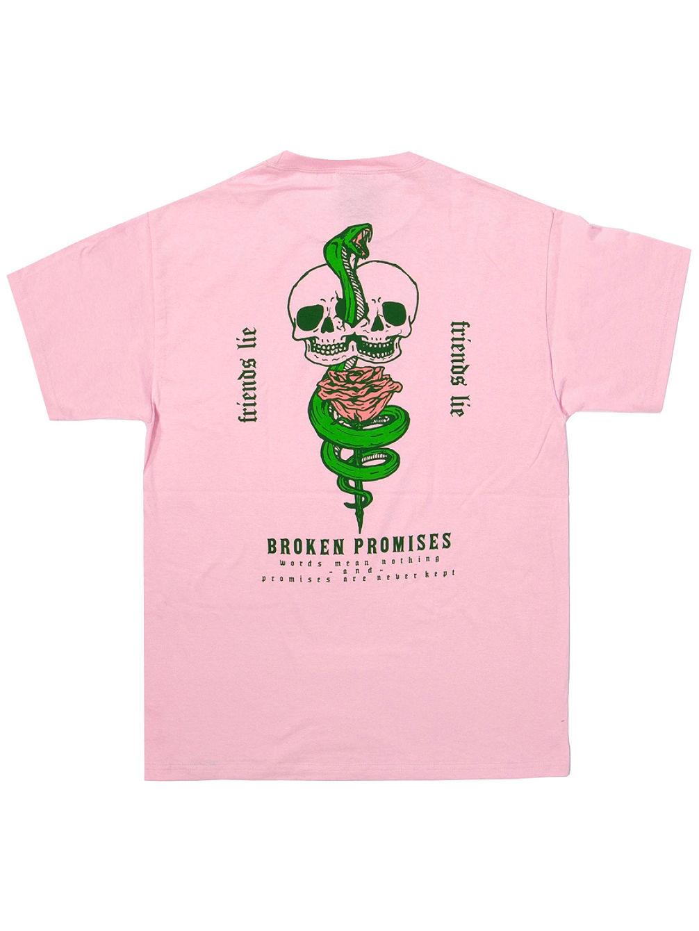 Achat Broken Promises Friends Lie T-shirt En Ligne