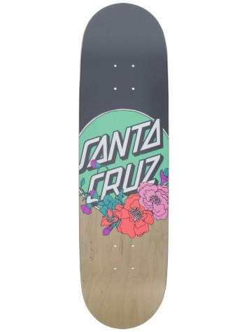 "Santa Cruz Floral Dot Taper Tip 8.25"" Skateboard Deck"