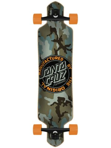 "Santa Cruz MFG Dot Drop Thru 9.2"" Skateboard"