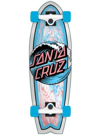 "Santa Cruz Wave Dot 8.8"" Skateboard"