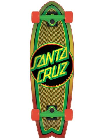 "Santa Cruz Rasta Weave Dot 8.8"" Skateboard"
