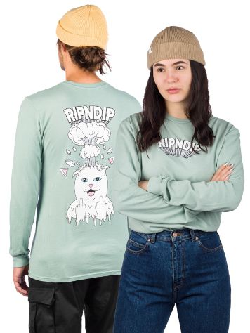 RIPNDIP Mind Blown Camisa Manga Comprida