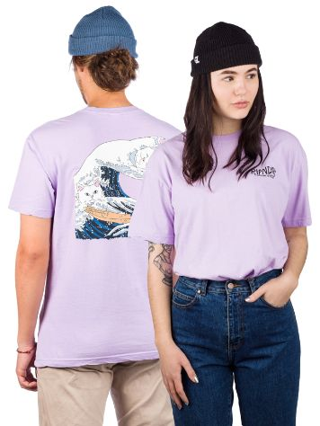 RIPNDIP Great Wave T-Paita