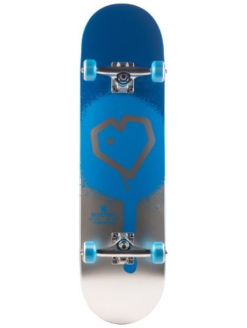 "Blueprint Spray Heart 8.25"" Skateboard"
