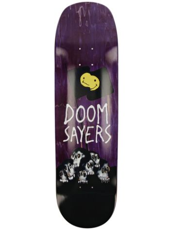 "Doomsayers Skull Flag Shovel 8.4"" Skateboard Deck"