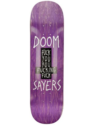 "Doomsayers Fuck You 8.28"" Skateboard Deck"