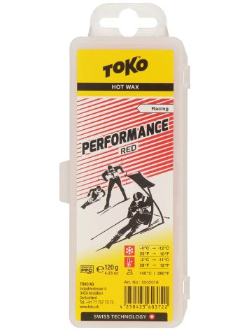 Toko Performance Red -2°C / -11°C 120 g Wax