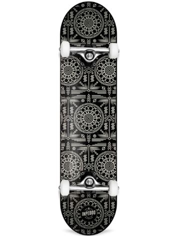 "Inpeddo Standard Black Carpet 7.75"" Skateboard"