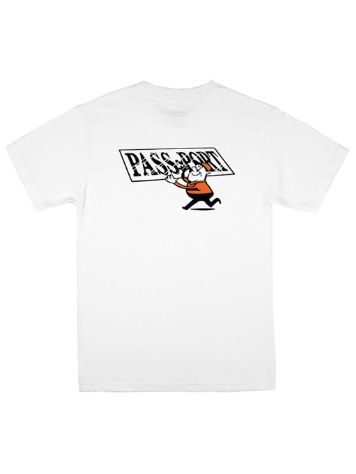 Pass Port Mirror Man Pocket T-Shirt