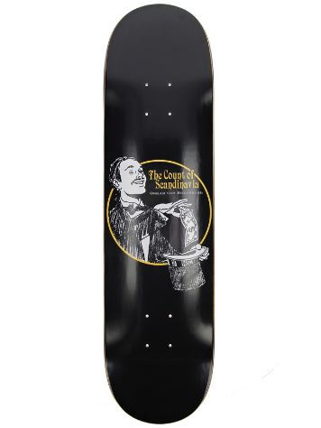 "Polar Skate Oskar Rozenberg The Count 8.0"" Skateboard Deck"