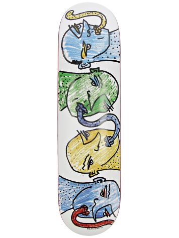 "Polar Skate Team Kissing Heads 8.125"" Skateboard Deck"