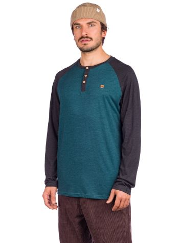 Tentree Henley Classic Long Sleeve T-Shirt