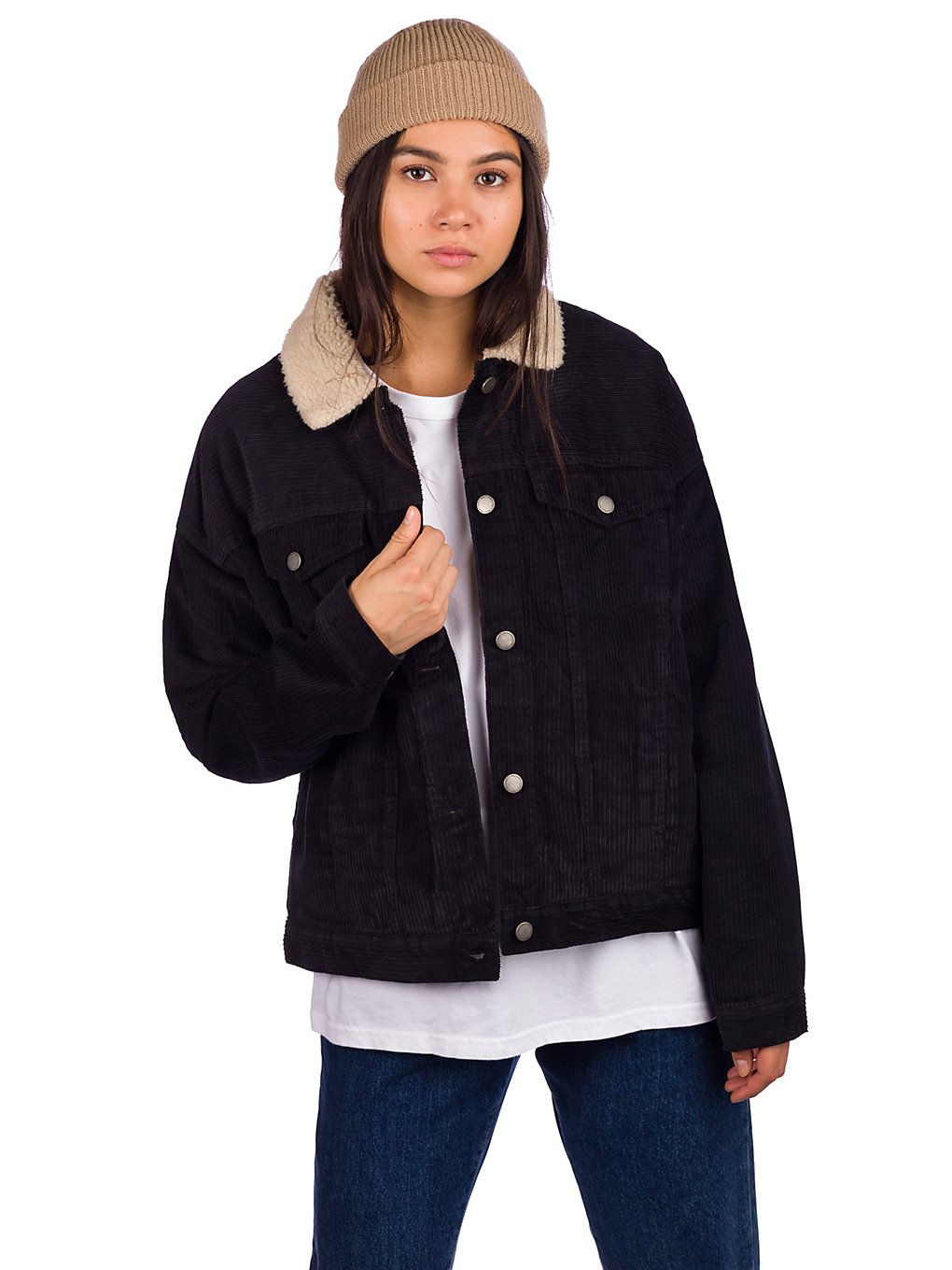 Roxy Good Fortune Jacket anthracite