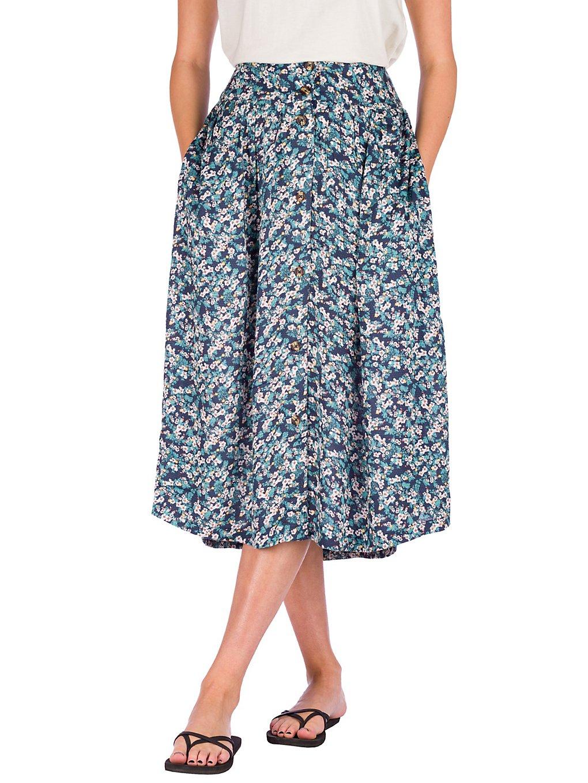 Roxy Never Been Better Dobby Skirt mood indigo grand ma
