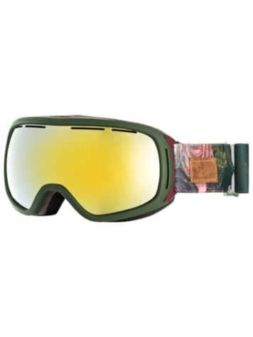 Roxy Rockferry Bronze Green Sammy Goggle