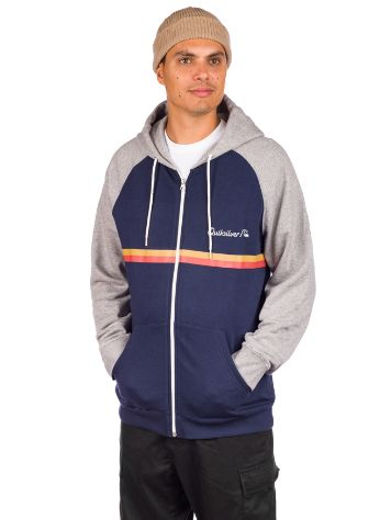 Quiksilver Everyday Screen Hoddie com fecho
