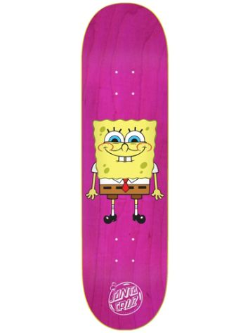 "Santa Cruz SpongeBob SquarePants 8.0"" Skateboard Deck"
