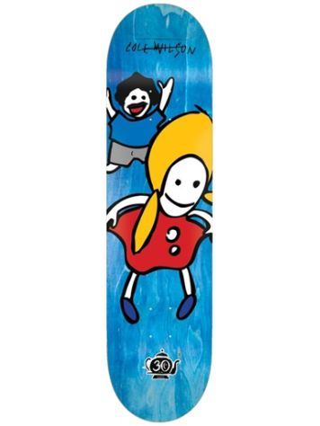 "Foundation Wilson Peeky Peeky Reissue 30 Years 8.0"" Skateboard Deck"