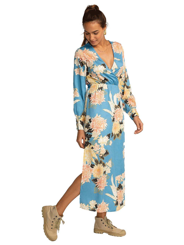Billabong Good Side Dress surf blue
