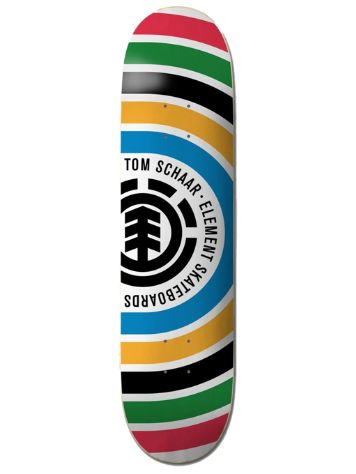 "Element Schaar Rings 8.0"" Skateboard Deck"