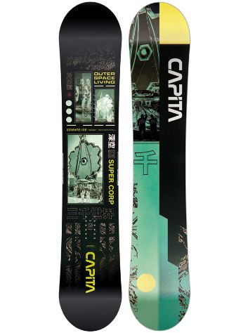 Capita Outerspace Living 157W 2021 Snowboard