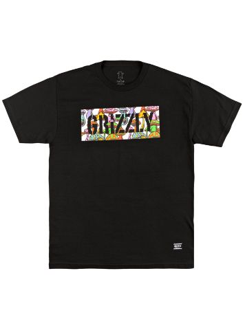 Grizzly Fungi Box Logo Tricko