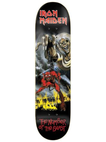"Zero X Iron Maiden Number Of The Beast 8.0"" Skateboard Deck"