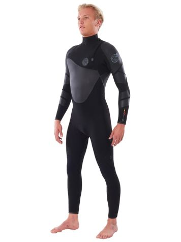 Rip Curl Flashbomb Heatseeker 5/3 GB Zip Free Wetsuit