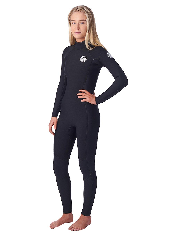 Rip Curl Dawn Patrol 3/2 GB Back Zip Wetsuit noir