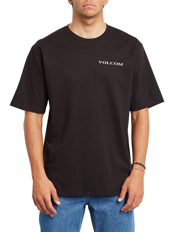 volcom volcom stone rlx t-shirt black