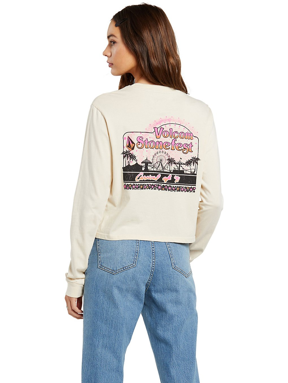 Volcom The Stones Long Sleeve T-Shirt blanc