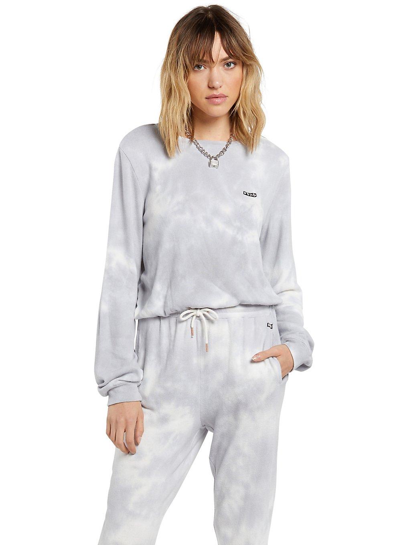 volcom lil crew sweater multi