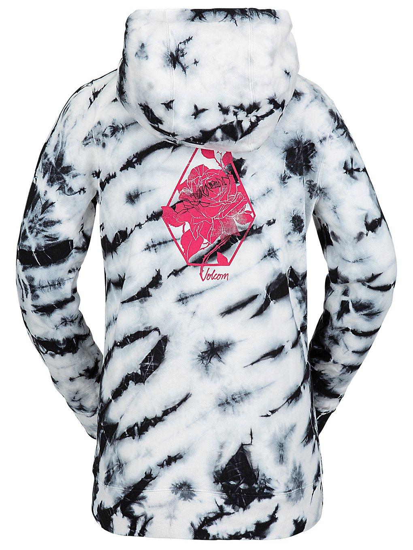 volcom costus riding hoodie white