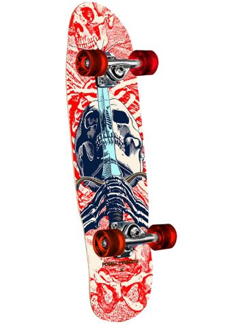 "Powell Peralta Mini Skull & Sword II 8.0"" Skateboard"
