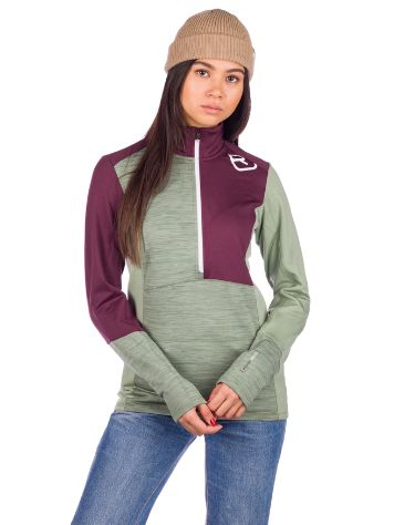 Ortovox Light Zip Neck Baselayer Top