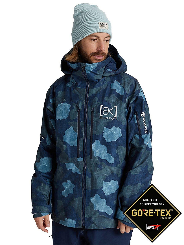 Burton ak Gore-Tex Swash Jacket dress blue telo camo