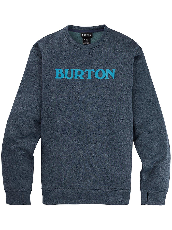 Burton Oak Sweater dress blue heather